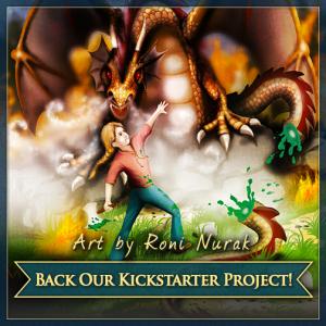 Kingdom Tales Kickstarter Artist: Roni Nurak